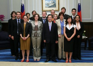 journalists.network group with President Chen