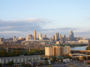 Another charming Midwestern city: Cincinnati