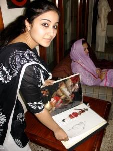 Design student in Lahore