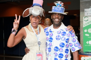 Delegates at the Democratic Convention in Charlotte