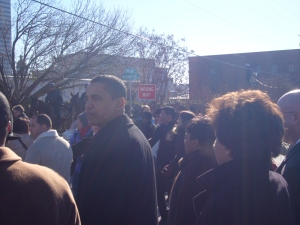 Obama on MLK Day in Columbia