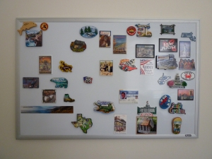 Each state a magnet: my personal U.S. map