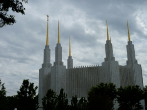 Spaceship style: The Mormon Temple in Kensington